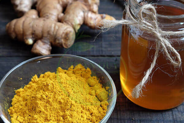 bài thuốc dân gian chữa đại tràng nghệ và mật ong